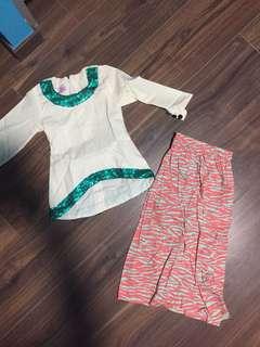 Kids Baju Kurung Dress