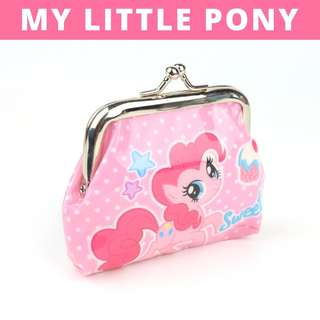 Little Girls Coin Pouch - Pink My Little Pony