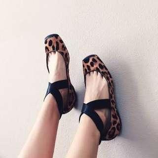 Jessica simpson mandalaye leopard ballet flats