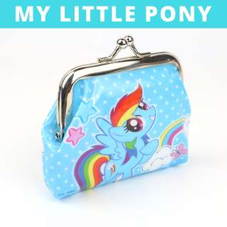 Little Girls Coin Pouch - Blue My Little Pony