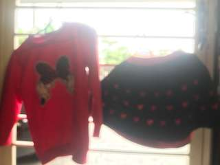 Hello kitty and micky mouse dress