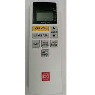 KDK ceiling fan remote control K15Z5-QEY / K15Z5-REY