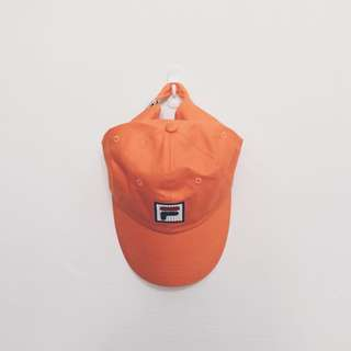 Fila Baseball Dad Cap - Orange