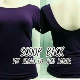 ScoopBack Shirt