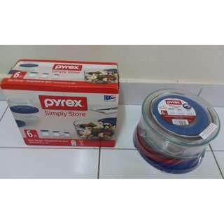 Pyrex Simply Store 6pcs