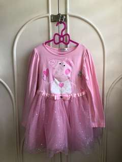 Peppa Pig Tutu Dress (pink)