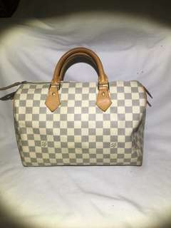 Louis Vuitton Speedy 30 Azure Authentic