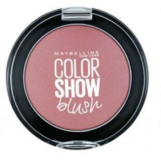 Maybelline blush on color show