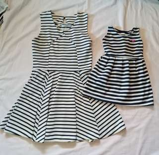 Mothern and Daughter Dress