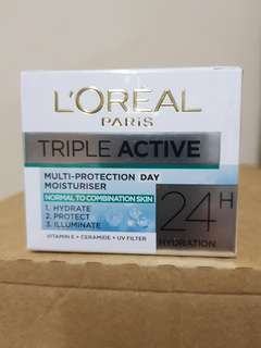 L'Oreal Day Cream Tripple Active Dry/Nor/Nou 50ml