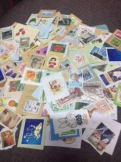 包郵 日本紀念特別郵票 50克,100克,200克,500克