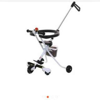 Magic Stroller 5 roda (ada bakul comel)