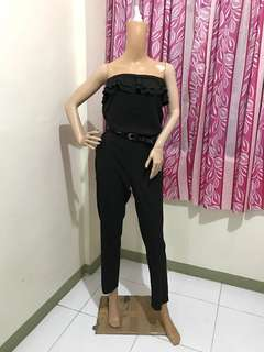 Size XL/XXL Jumpsuit With Ruffles