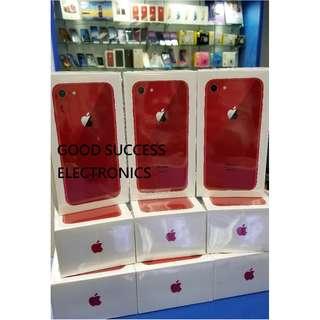 Apple iphone 8  64GB $5630 / 256GB $6830 4.7吋 原裝香港行貨 原廠一年保養