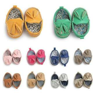 Pre-Order - Baby Boys and Girls PU Shoe