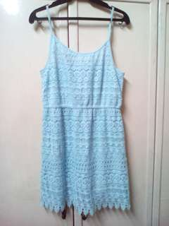H&M Divided Baby Blue Dress