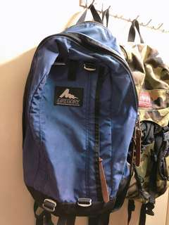 Gregory Backpack 紫色 書包