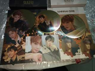 WTT WANNA ONE I PROMISE YOU ALBUM MIRROR CARD/PC/TAZO