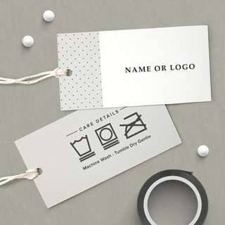Print Hand Tags / Vouchers / Gift Cards