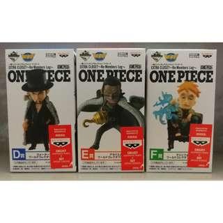Banpresto WCF Ichiban Kuji One Piece Extra Closet
