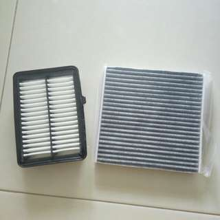 Vezel Shuttle Air con cabin and engine filter