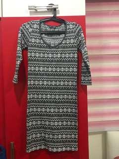 Terraniva Stretchable Bodycon Dress