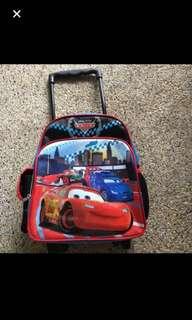 Mcqueen trolley bag