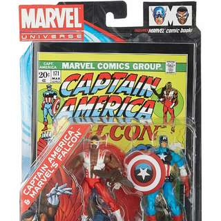 Captain America & Falcon - #171 Comic Book Action Figure 2-pack by Hasbro
