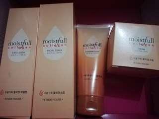 etude house moistful collagen set