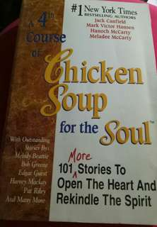 Chicken Soup for the Soul 4th course