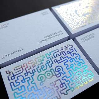 Holographic Business Card Print