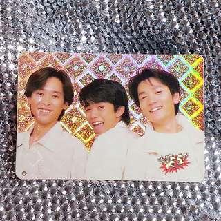 三宅健(V6)  絕版 YesCard 閃咭 閃卡 閃Card 三宅健(V6) 個人資料