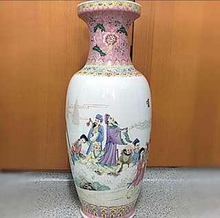 Eight Immortals Porcelain Vase