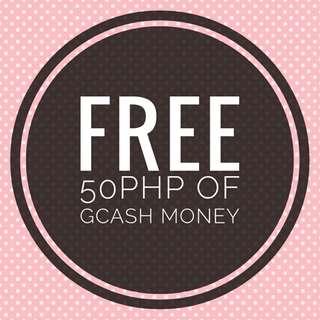 FREEEE! 50PHP OF GCASH MONEY