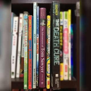 一系列 英文故事書 - 適合初中或以上學生 (English Story Books - for secondary school students)