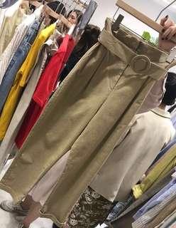 👖Brand New 2018 Korean Design Versatile High-Waist Kaki Pants!👖