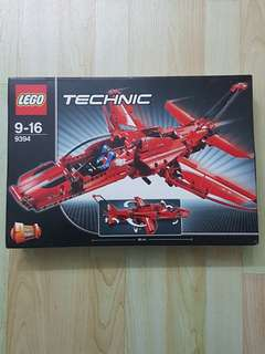 Lego Technic 9394 Jet Plane Brand New and Sealed