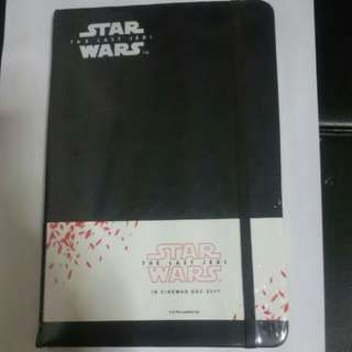 STAR WARS: THE LAST JEDI stormtrooper notebook !  - Exclusive !!! Limited Edition !!!