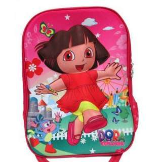 3D Cartoon Kids Backpack