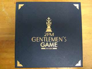 2PM GENTLEMEN'S GAME (LIMITED EDITION)