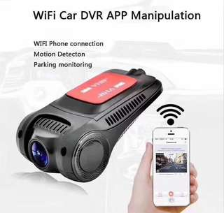 Wifi SONY 323 Sensor 1080P Full-HD (1920*1080) Mini Car - Vehicle Dash Cam DVR Recorder Camera - Front Car Camera with Wifi (Support up to 64GB Memory) Loop Recording - Motion Detection - Parking Monitoring - G Sensor - **Discreet Sleek Design**