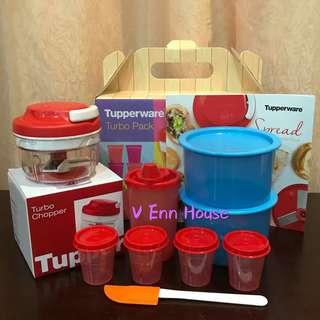 Tupperware Turbo Pack