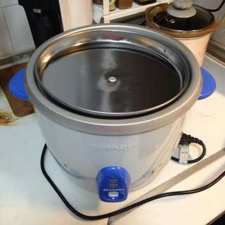 sharp 2.8 Liter rice cooker large 26cm diameter