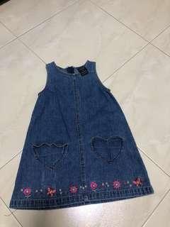 Size 4 Denim like Dress