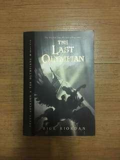 THE LAST OLYMPIAN (PERCY JACKSON)