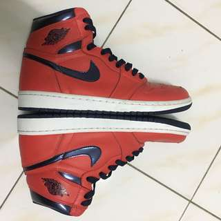 Air Jordan 1 high og david letterman