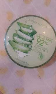 Aloe vera soothing gel 92% NEW ORI 100%