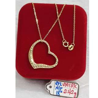 18K SPECIAL SAUDI GOLD NECKLACE (CHAIN & PENDANT) >>>>>