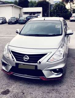 SAMBUNG BAYAR/CONTINUE LOAN  NISSAN ALMERA IMPUL AUTO 1.6 YEAR 2015 MONTHLY RM 818 BALANCE 6 YEARS + ROADTAX MAY 2018 MILEAGE LOW LEATHER SEAT  DP KLIK wasap.my/60133524312/almera