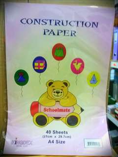 Construction Colors Paper